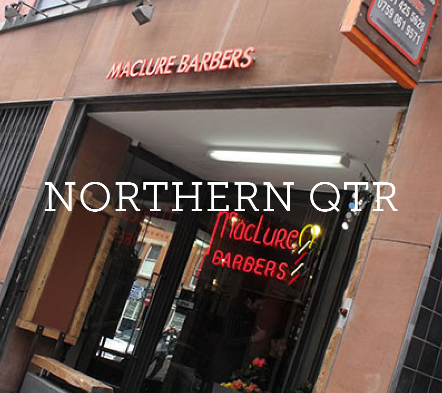 Maclure Barbers Manchester Northern Quarter